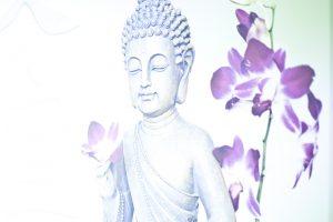 Buddha Leinwand